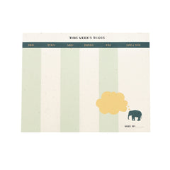 Elephant Desk Pad : Weekly To Do
