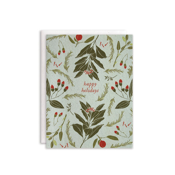 Festive Flavors Cards : Boxed Set of 8