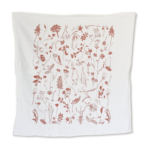 Wildflowers Towel : Fire