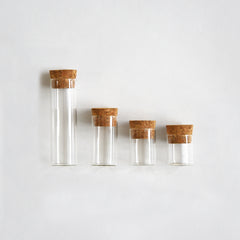 Specimen Bottles with Cork