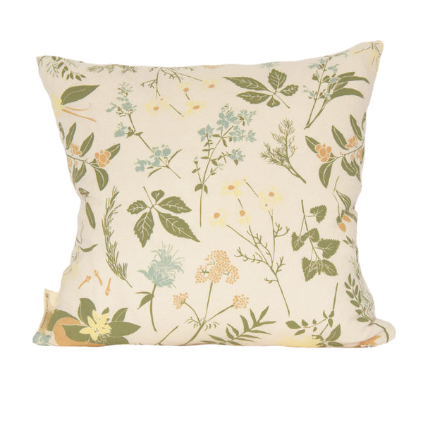 Herbal Tea Garden Pillow Cover