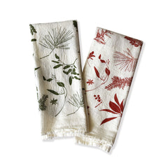 Mixed Boughs & Berries Napkins