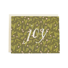 Joy Card : Boxwood and Bells