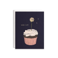 Make A Wish Cupcake Card