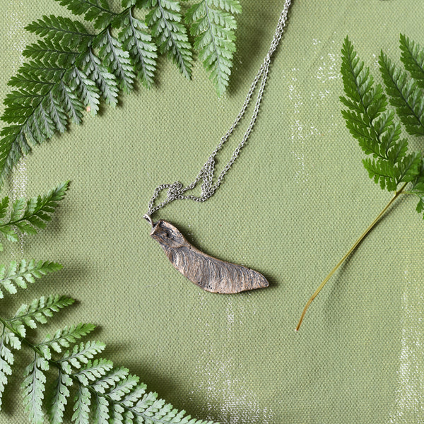 Maple Wing Seed Necklace