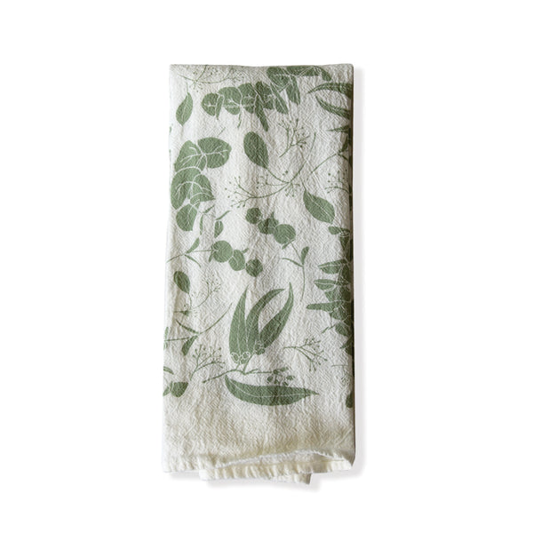 Mint Eucalyptus Twigs Napkins