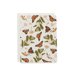 Monarchs & Milkweeds Cards : Boxed Set of 8