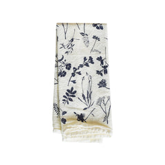 Navy Wildflowers Napkins : Set of 4