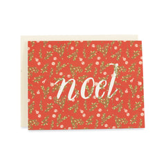 Noel Card : Boxwood and Bells