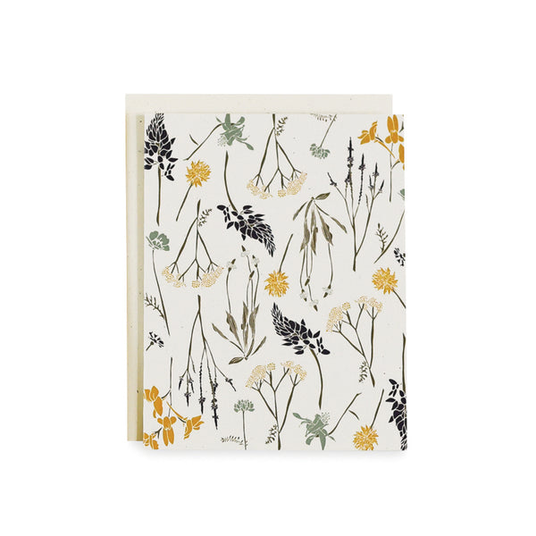 Northern Wildflowers Card