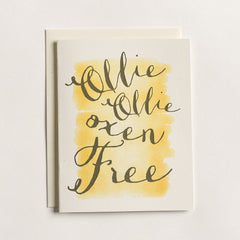 Ollie Oxen Free Card