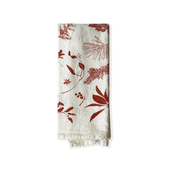 Red Boughs & Berries Napkins