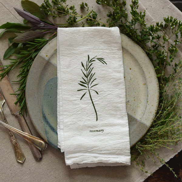 Rosemary Napkins