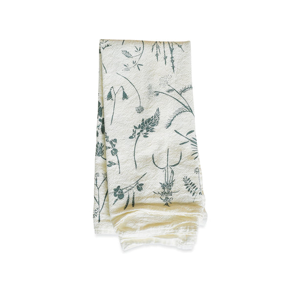 Slate Wildflowers Napkins