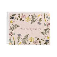 So glad I found you Card