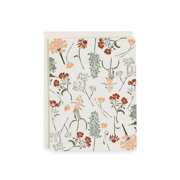 Southern Wildflowers Card