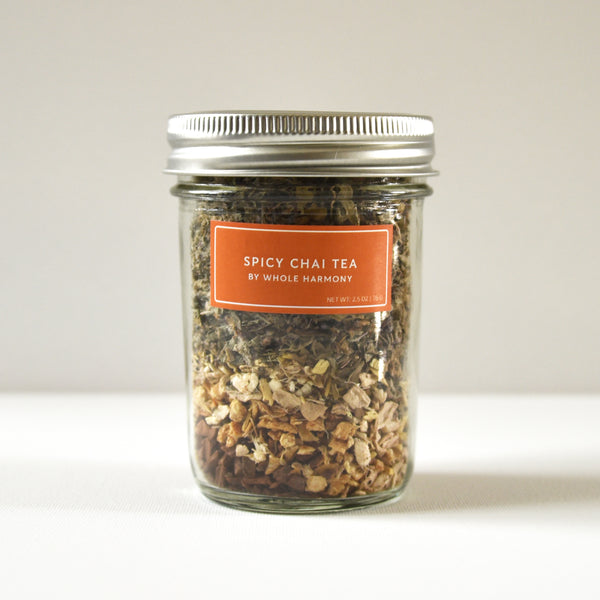 Spicy Chai Tea Jar