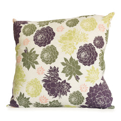 Succulent Pillow Cover