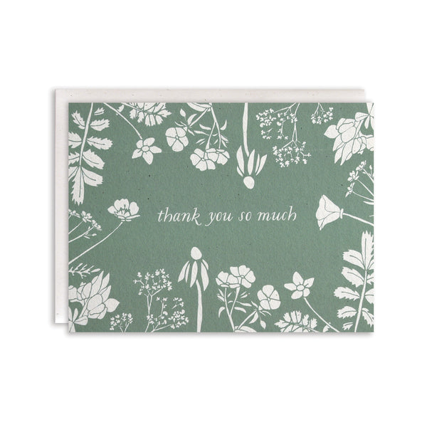 Thank You So Much Cards : Boxed Set of 8