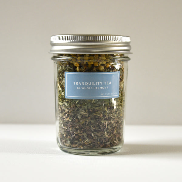 Tranquility Tea Jar