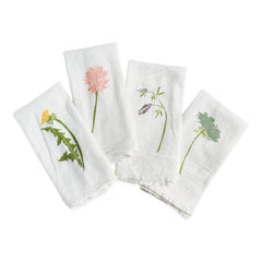 Wild Pretties Napkins : Set of 4