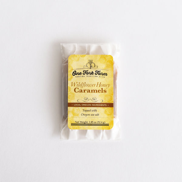 Hand-made Wildflower Honey Caramels