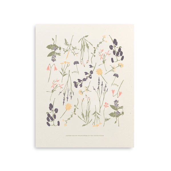 Eastern Wildflowers Art Print