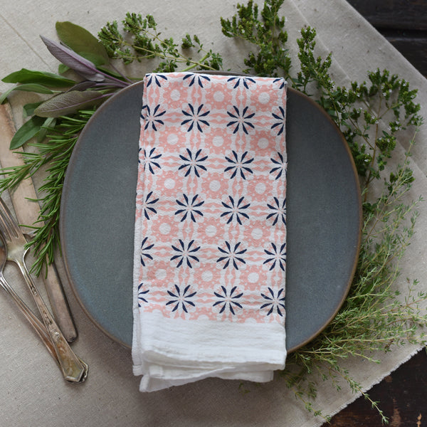 Chicory Napkin : Vintage Pink