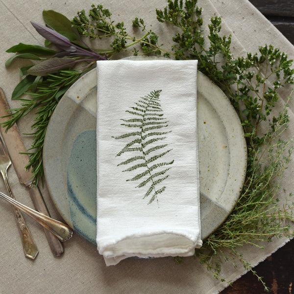 Wood Fern Napkins