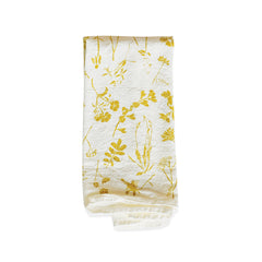 Yellow Wildflowers Napkins : Set of 4