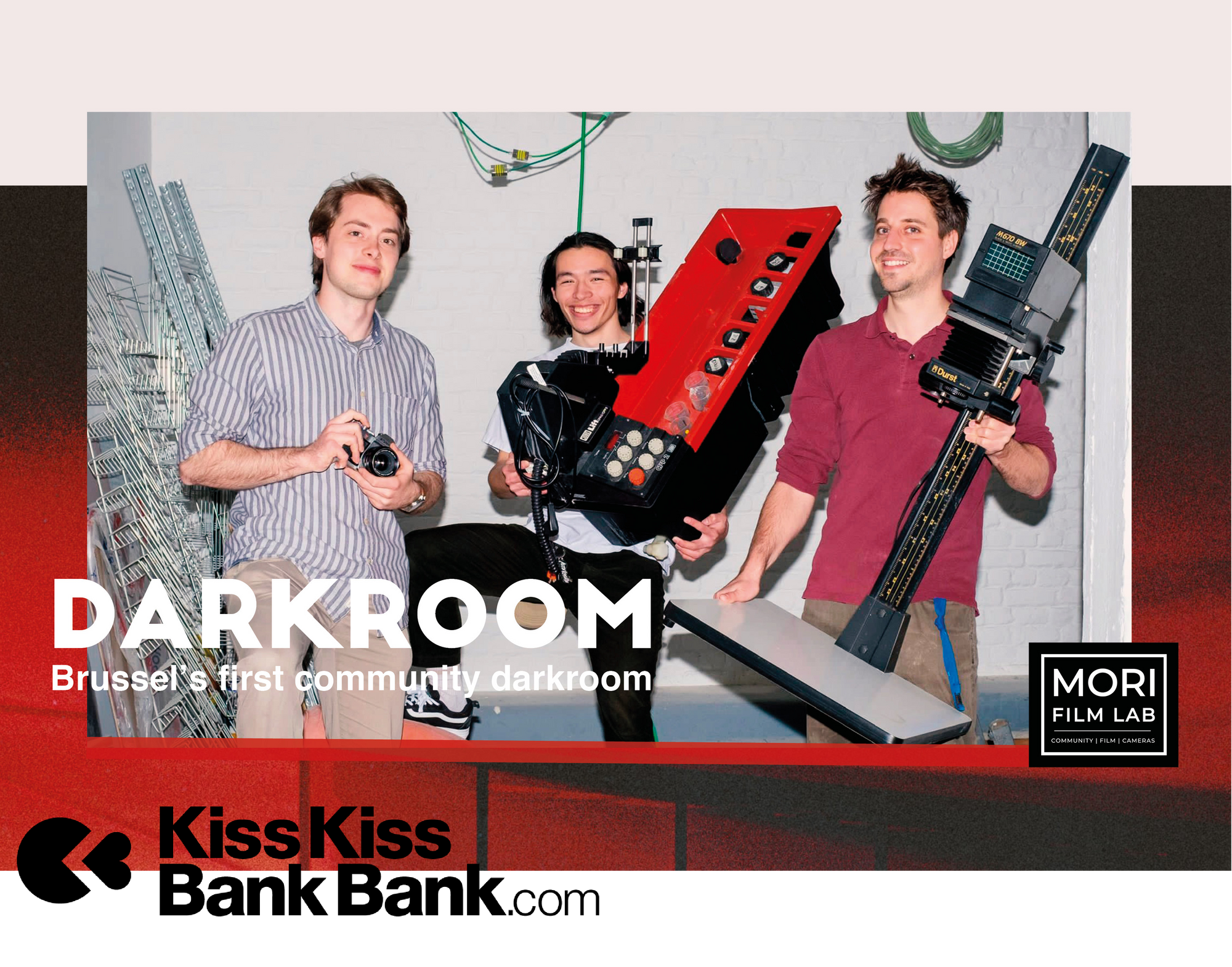 Help us make Brussel's first community Darkroom !