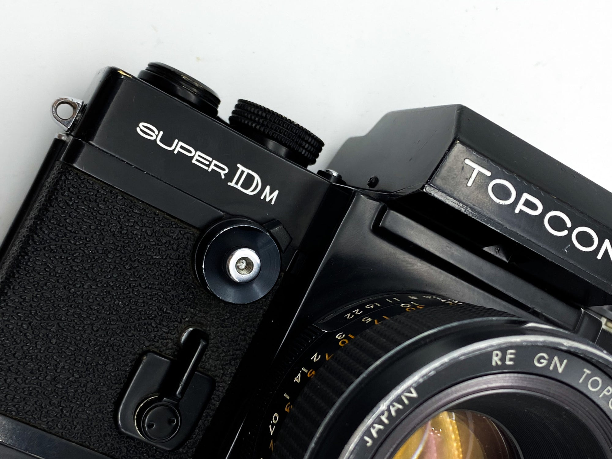 Two broke boys review: The Topcon Super DM, a forgotten pro-camera.