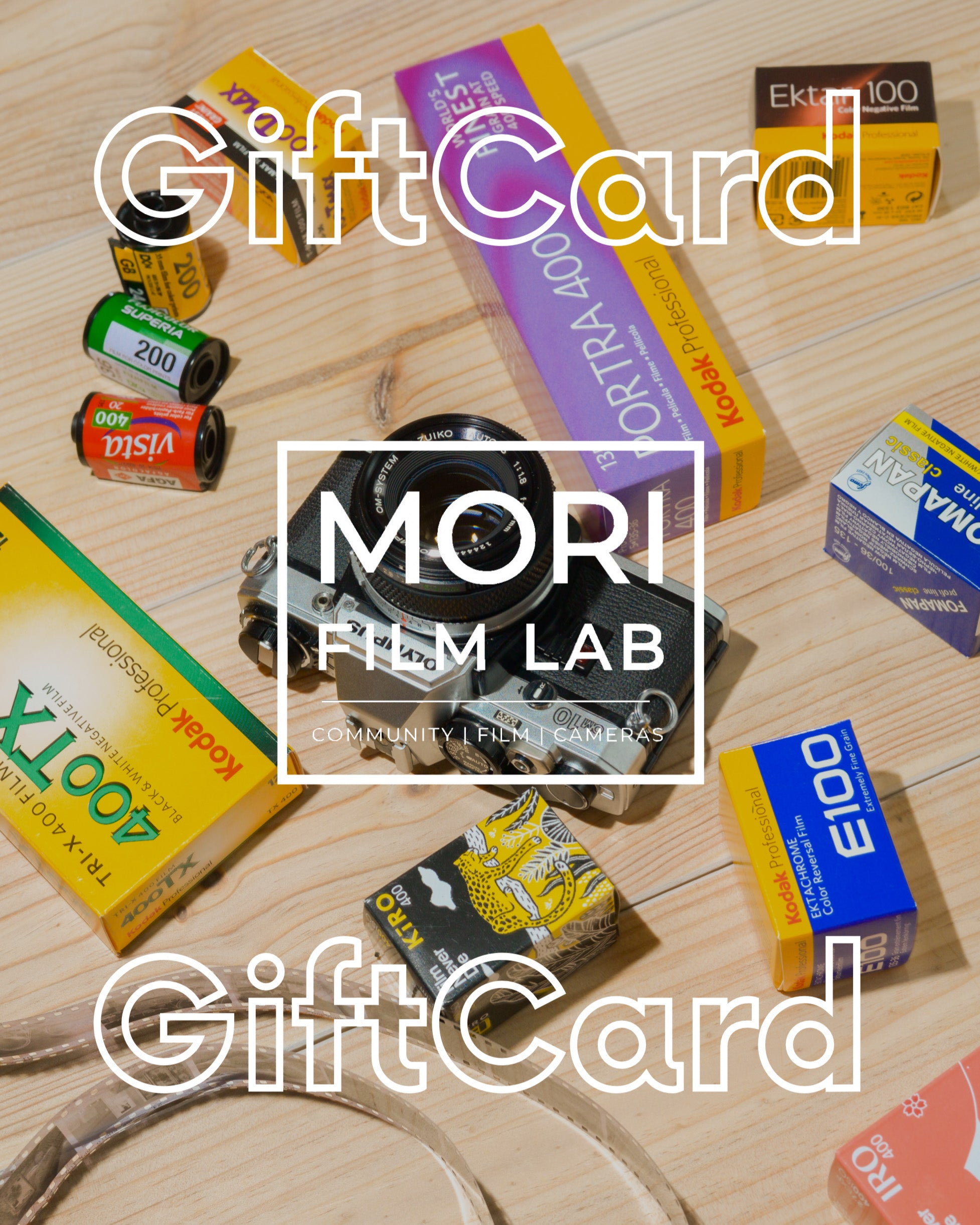 Mori Film Lab Gift Card