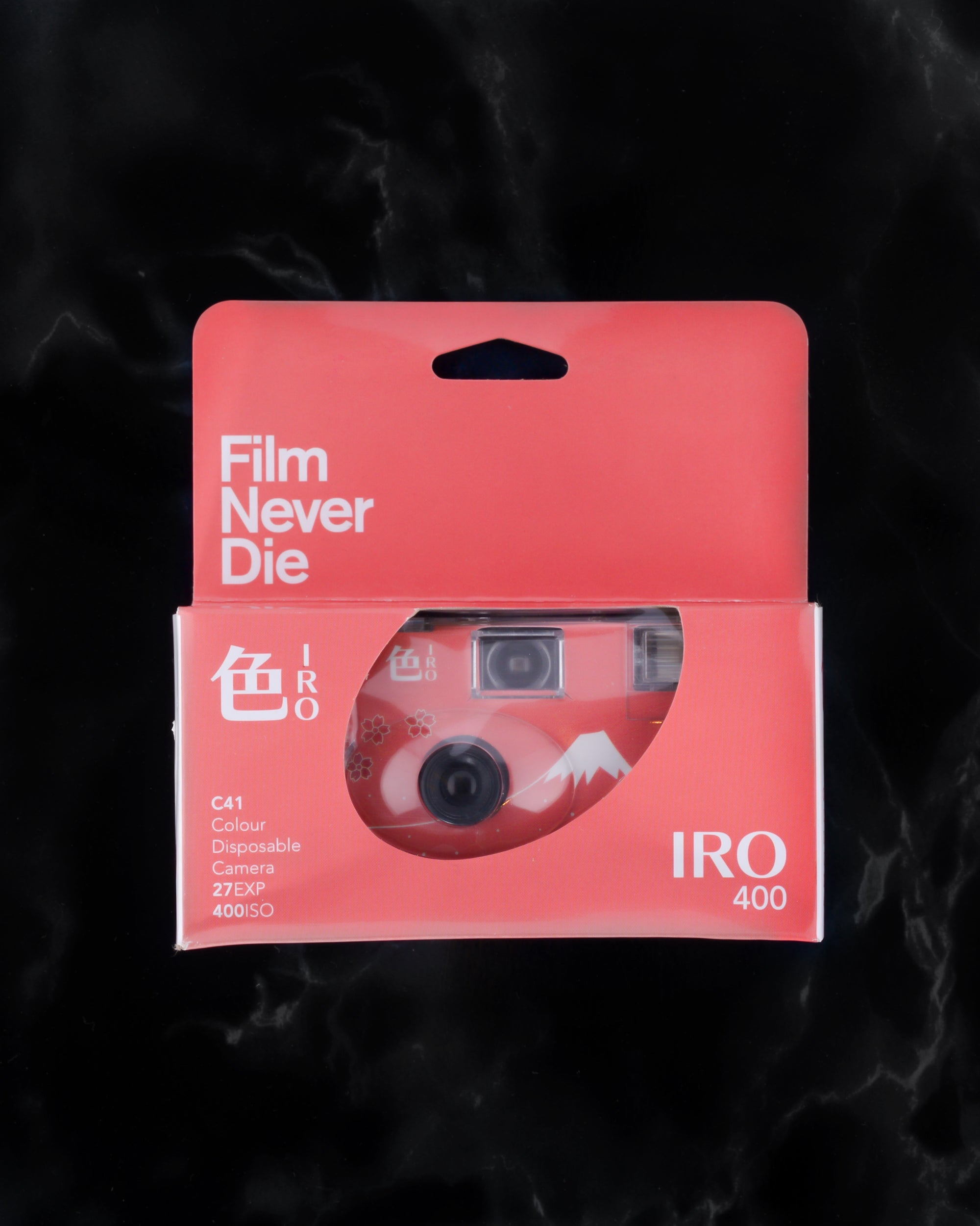 FilmNeverDie IRO 400 35mm Single Use Camera