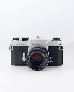 Pentax Spotmatic SP 35mm SLR film camera with 55mm f2 lens