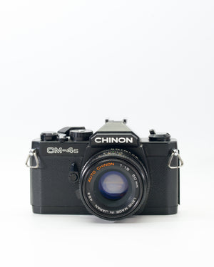 Chinon CM-4S 35mm Type film camera with 50mm f1.9 lens