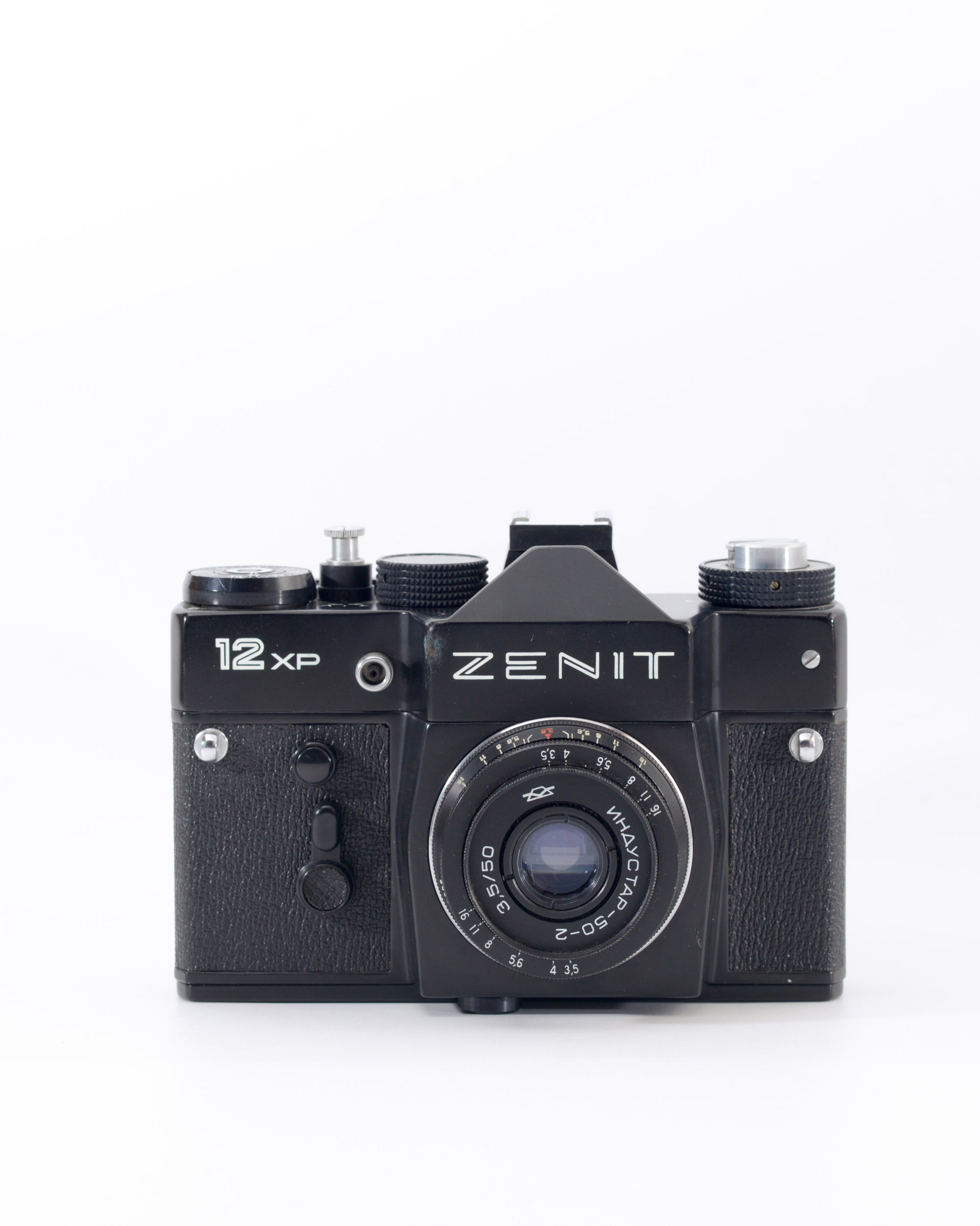 Zenit 12XP 35mm SLR Film Camera with 50mm f3.5 Lens