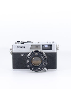 Canon Canonet QL19 35mm Rangefinder film camera with 45mm f1.9 lens