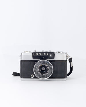 Olympus Pen EE-2 35mm half-frame film camera with 28mm f3.5 lens