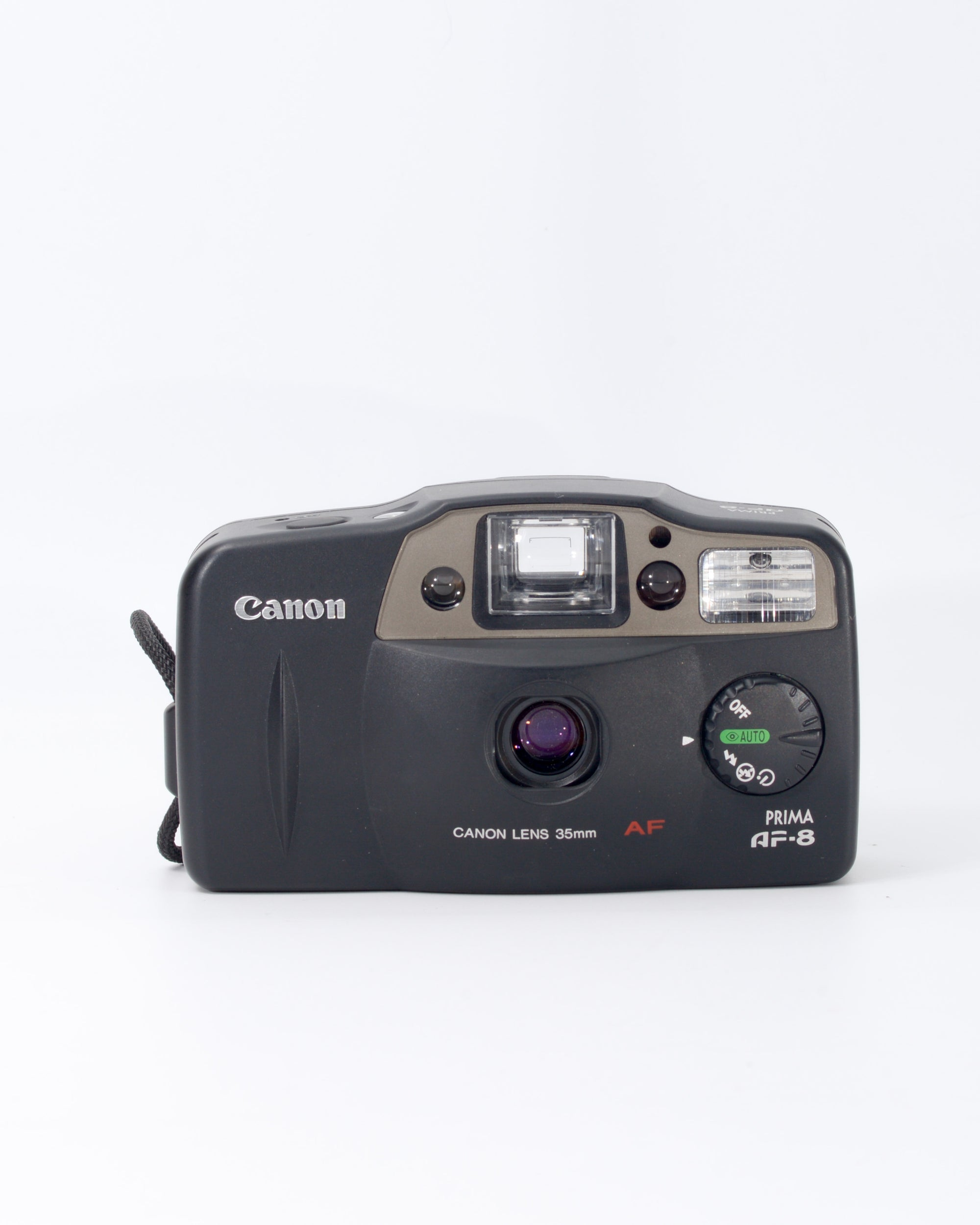 Canon Prima AF-8 35mm Point & Shoot Film Camera with 35mm f4.5 Lens