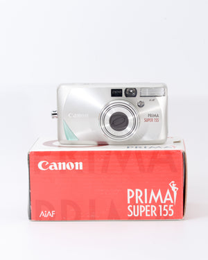 Canon Prima Super 155 35mm Point & Shoot Film Camera with 37-155mm Lens