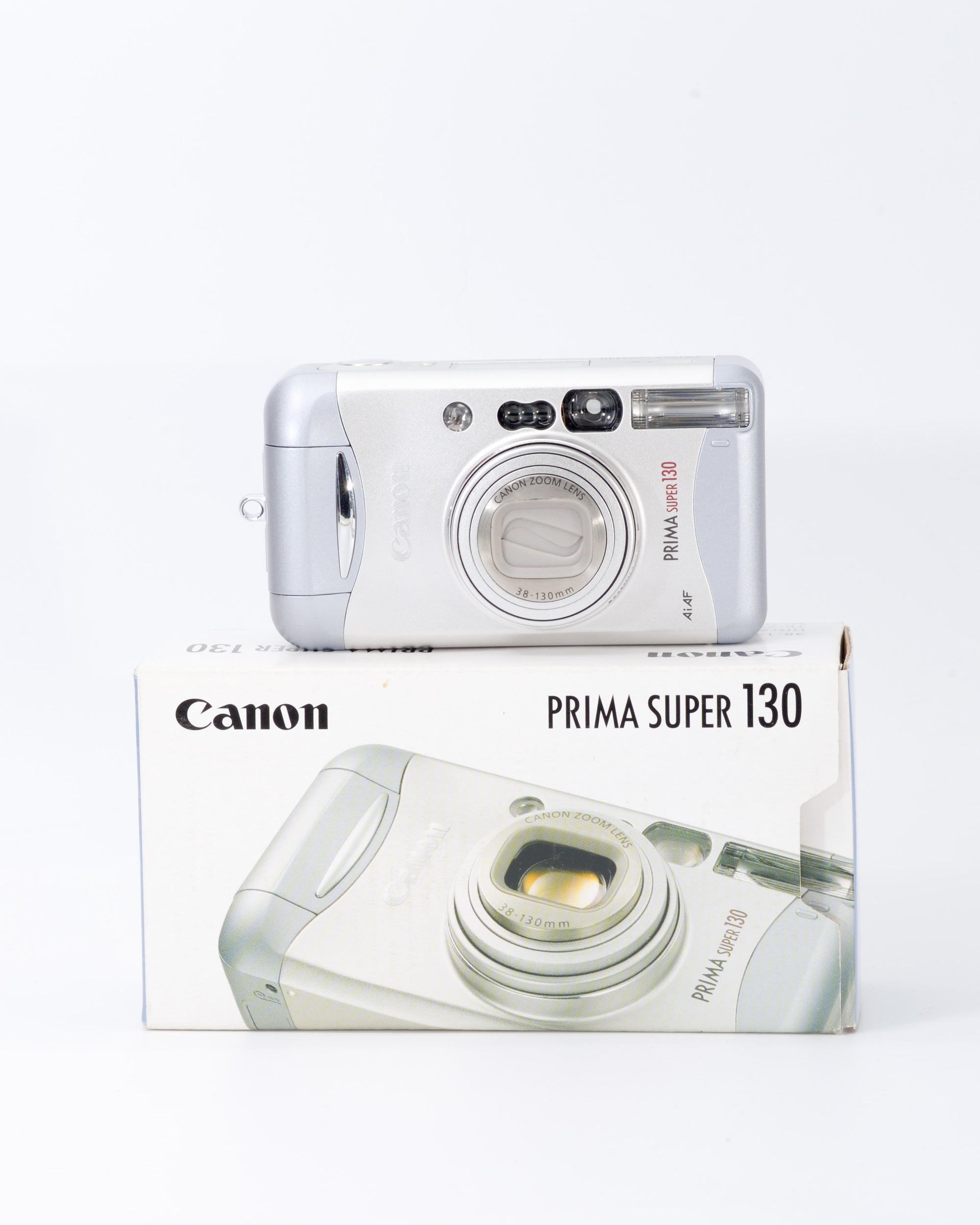 Canon Prima Super 130 35mm Point & Shoot Film Camera with 38-130mm Lens
