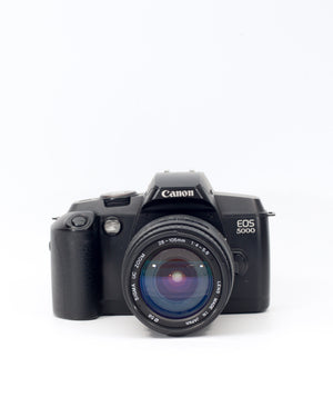 Canon EOS 5000 35mm SLR Film Camera with 28-105mm Lens