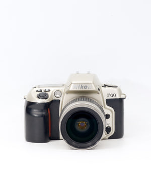 Nikon F60 35mm SLR film camera with 28-80mm lens