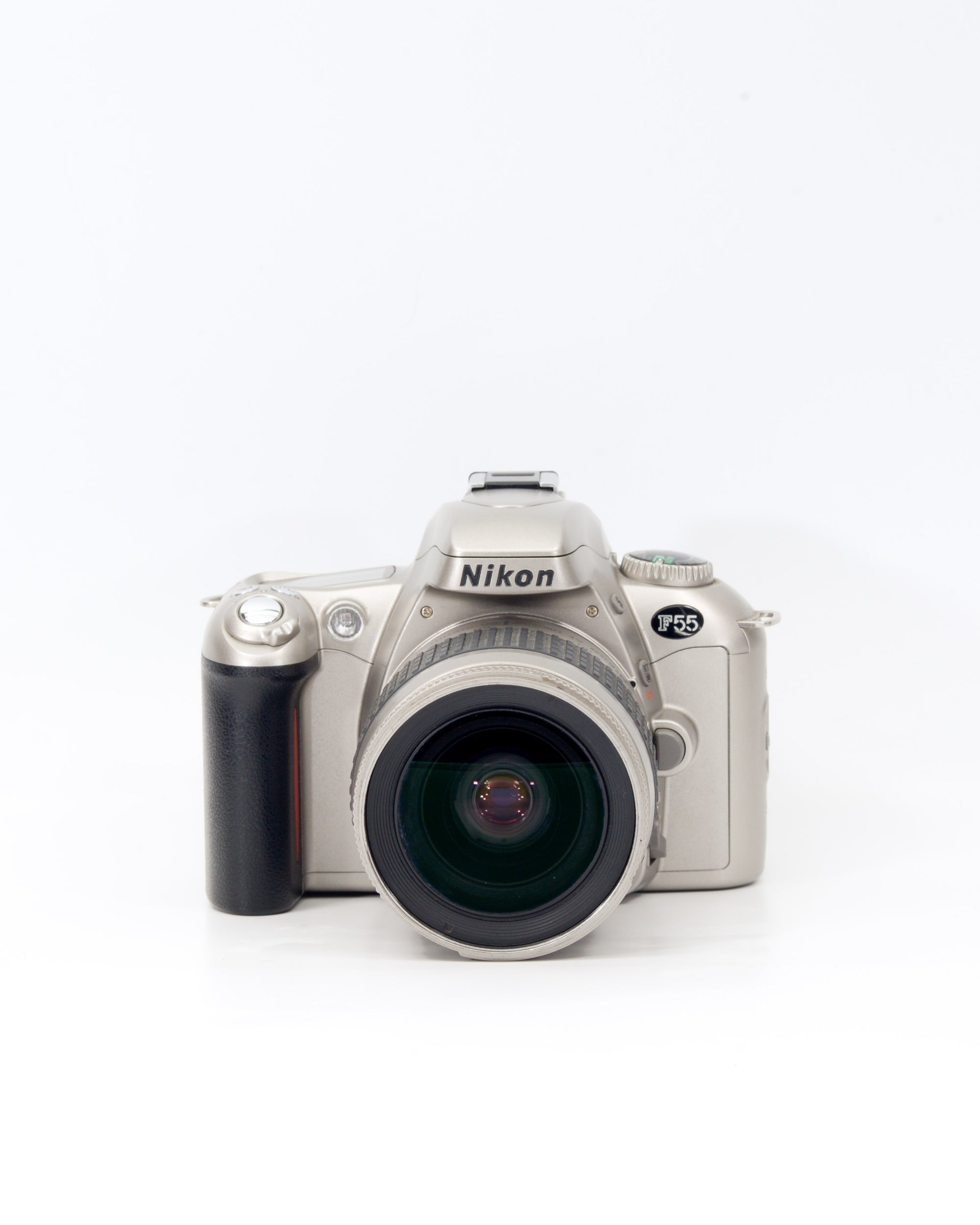 Nikon F55 35mm SLR film camera with 28-80mm lens