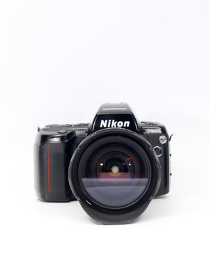 Nikon F90X 35mm SLR film camera with 28-200mm lens