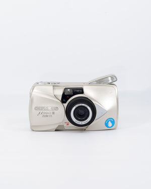 Olympus Mju-II Zoom 115 35mm point & shoot camera with 38-115 zoom lens