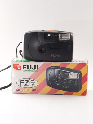 Boxed Fuji FZ-5 35mm Point & Shoot Film Camera with 35mm Lens