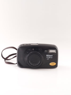 Nikon zoom 100 AF 35mm Point & Shoot film camera with 35-70mm Zoom lens