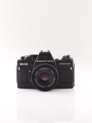 Praktica BMS 35mm SLR film camera with 50mm f2.4 lens